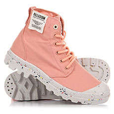 Ботинки высокие Palladium Hi Organic Peach Pearl