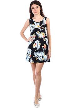 Платье женское Roxy Al Ab Se Dr Anthracite Tropical