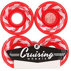 Колеса для лонгборда Footwork Barber Shop Red 78A 59 mm