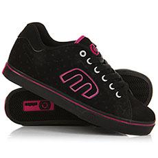 Кеды низкие женские Etnies Calli-vulc Ws Black/Pink