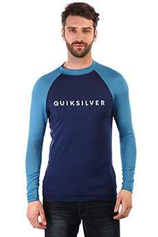 Гидрофутболка QUIKSILVER Alwaystherels Medieval Blue