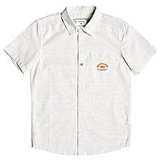 Детская QUIKSILVER рубашка с коротким рукавом Wild Aqua