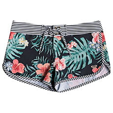 Шорты детские Roxy Sp Bs Anthracite Hibiscus