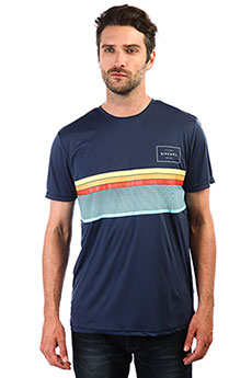 Гидрофутболка Rip Curl Rapture Surflite Uv Tee Navy