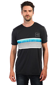 Гидрофутболка Rip Curl Rapture Surflite Uv Tee Charcoal Grey