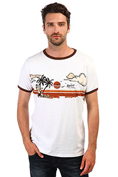 Футболка Rip Curl Hawaiian Sunset Ss Tee Optical White