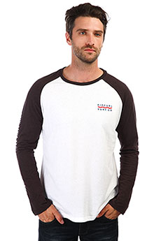 Лонгслив Rip Curl Shore Lines Ls Tee Optical White