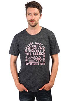 Футболка Rip Curl The Surf Company Ss Tee Black