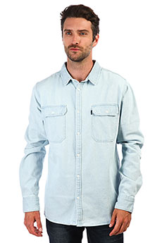 Рубашка Rip Curl Suns Out Overshirt Light Blue