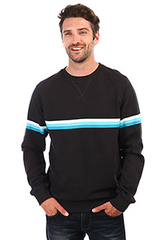 Толстовка свитшот Rip Curl Rainbow Stripe Crewneck Fleece Anthracite