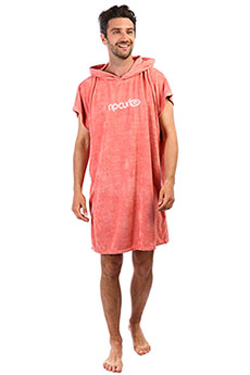 Пончо Rip Curl Surf Essentials Hooded Towel Salmon