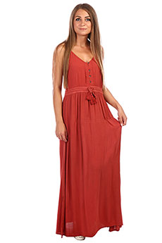 Платье женское Rip Curl Nelly Maxi Dress Hot Sauce