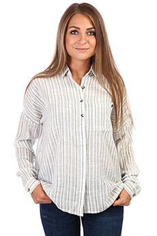 Блузка женская Rip Curl White Wash Long Sleeve Shirt Sea Salt