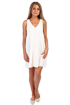 Платье Rip Curl Koa Cover Up Off White