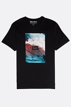 Футболка Billabong SECTION TEE SS BLACK