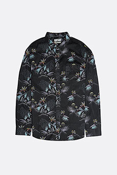 Рубашка Billabong SUNDAYS FLORAL LS BLACK