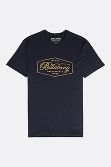 Футболка Billabong TRADEMARK TEE SS NAVY