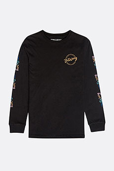 Лонгслив детский Billabong Eighty Six Boys Black