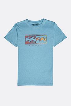 Футболка детская Billabong Inversed Boy Aqua Blue