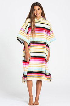 Пончо женское Billabong Hoodie Towel Serape-71