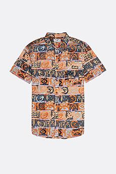 Рубашка Billabong SUNDAYS FLORAL SS ORANGE