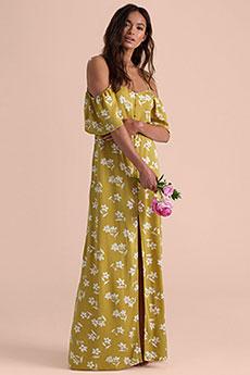 Платье женское Billabong Shoulder Sway Citrus
