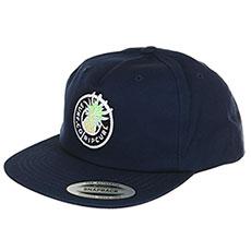 Мужская бейсболка с прямым козырьком Rip Curl Tropic Topic Cap Navy