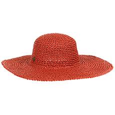 Женская шляпа Rip Curl Lost Island Mid Brim Boho Salmon