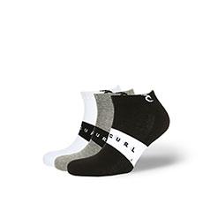 Мужской комплект носков Rip Curl Corpo Stripe Ankle Socks Multico
