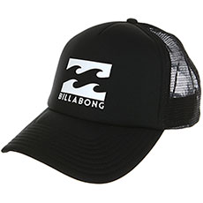 Бейсболка с сеткой Billabong Podium Trucker Black/White