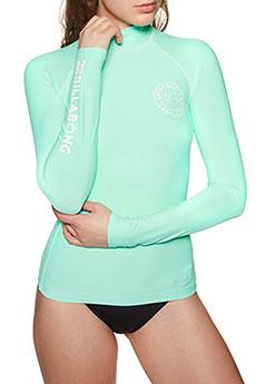 Гидрофутболка женская Billabong Logo In Ls Seagreen