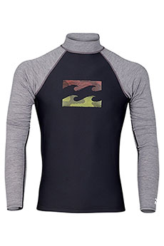 Гидрофутболка Billabong Team Wave Ls Black