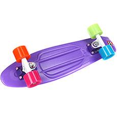Скейт мини круизер Пластборды Wild 2 Purple 6 x 22 (55.9 см)