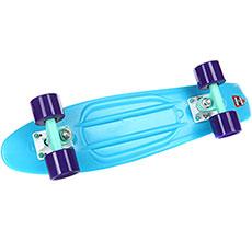 Скейт мини круизер Пластборды Stream 3 Blue 6 x 22 (55.9 см)