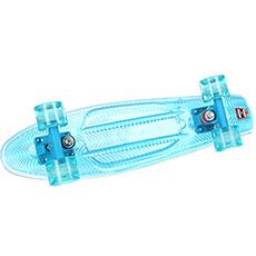 Скейт мини круизер Пластборды Transparent 1 Sky 6 x 22 (55.9 см)