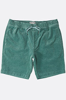 Шорты классические Billabong Larry Layback Cord Dust Green 8457-34