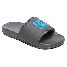 Шлепанцы DC Shoes Slide B Grey/Blue 8461-10