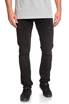 Узкие джинсы QUIKSILVER Distorsion Stranger Black