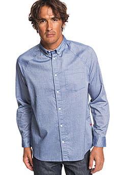 Рубашка QUIKSILVER Agora Blue Indigo