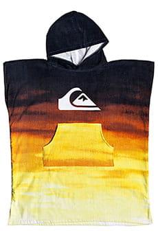 Пончо детское QUIKSILVER Hoody Towel Yth Tiger Orange