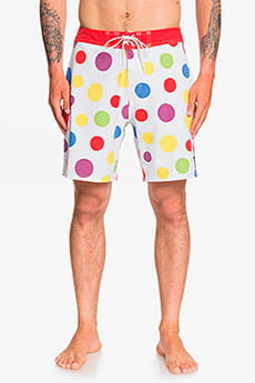 Бордшорты QUIKSILVER Echo Beach Polka Dot 18""