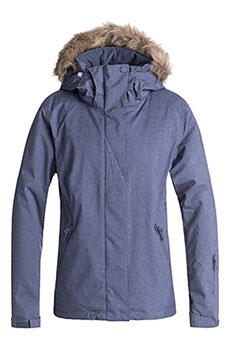 Куртка утепленная женская Roxy Jet Ski Solid J Snjt Crown Blue