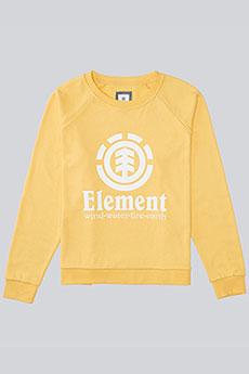 Толстовка классическая Element Verticalli Crew Banana
