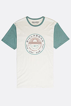 Футболка Billabong Rock Point Tee Bone