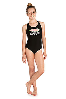 Купальник детский Rip Curl Basic Logo One Piece Black