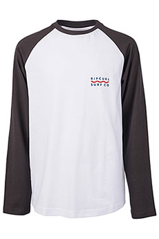 Лонгслив детский Rip Curl Shore Lines Boy Ls Tee Optical White