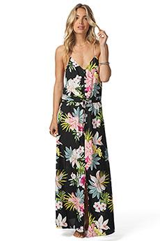 Платье женское Rip Curl Sweet Aloha Maxi Black