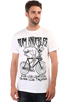 Футболка Rum Knuckies Rider White