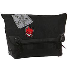 Сумка через плечо Spitfire Trespass Messenger Bag Black