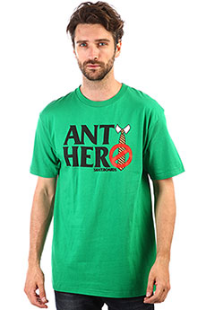 Футболка Antihero Logo Green